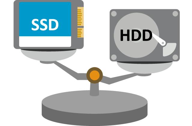 薄くて軽量なSSD