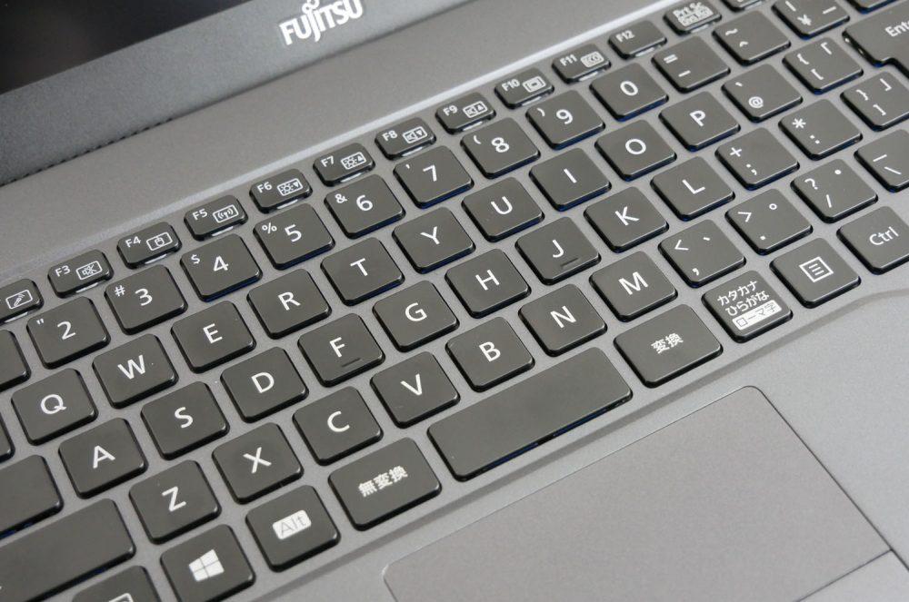 かな表記なしのキーボード