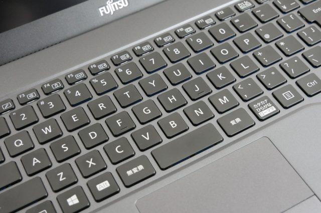 「かな表記なし」のキーボード