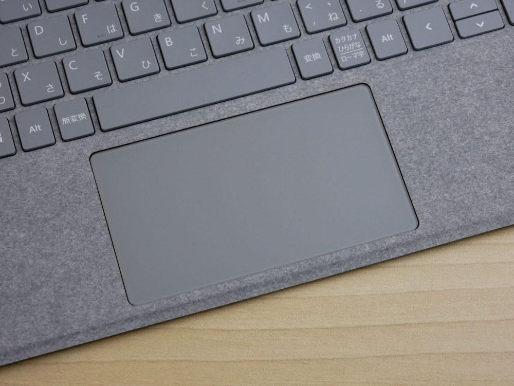 Surface Go用タイプカバーのタッチパッド