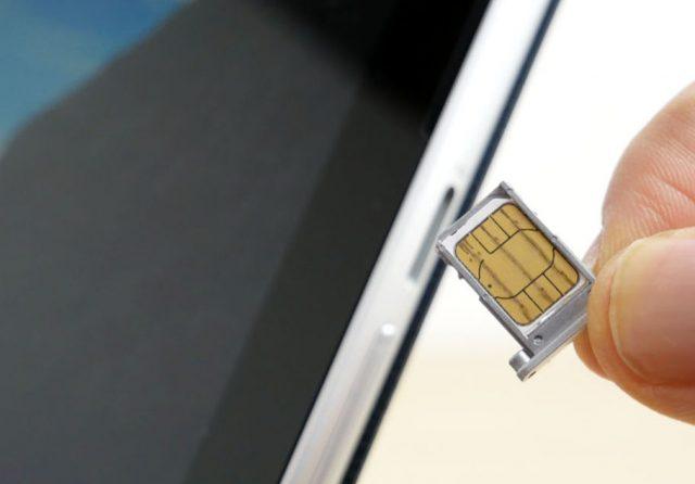 nano SIMカード