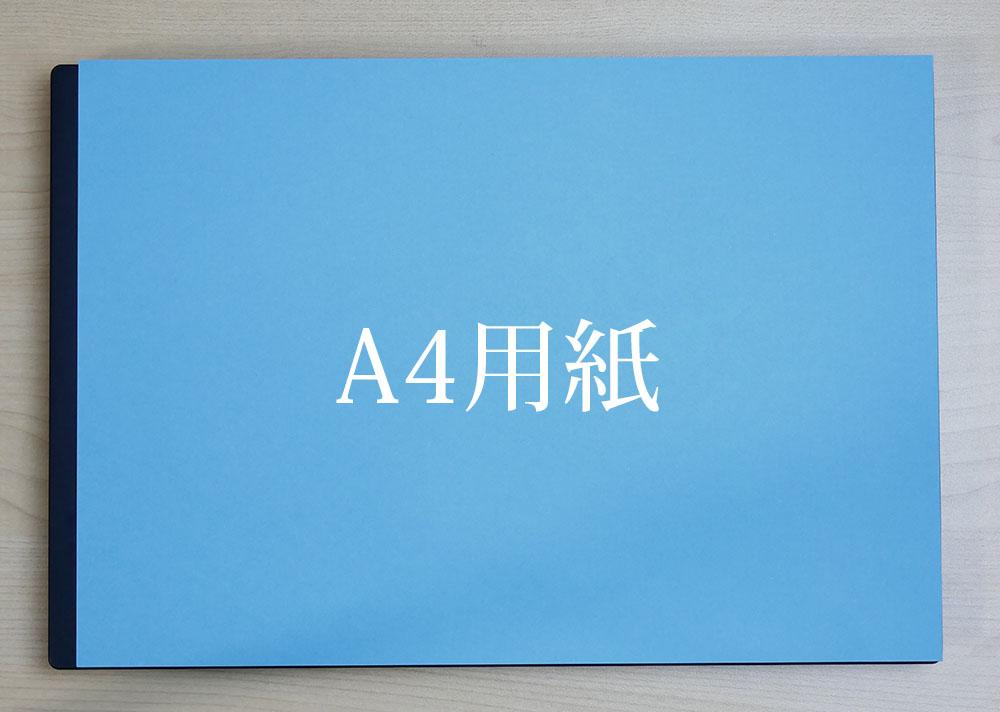 A4用紙との比較画像