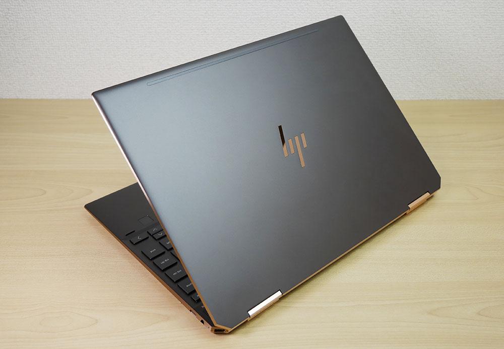 「HP Spectre x360 13」アッシュブラックの外観