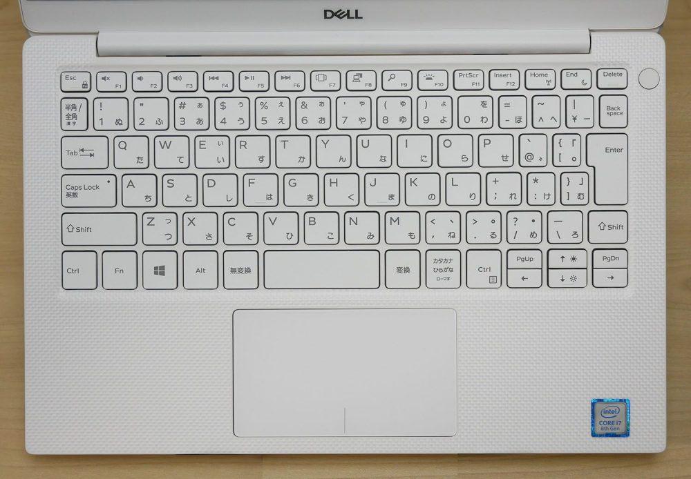New XPS 13のキーボード
