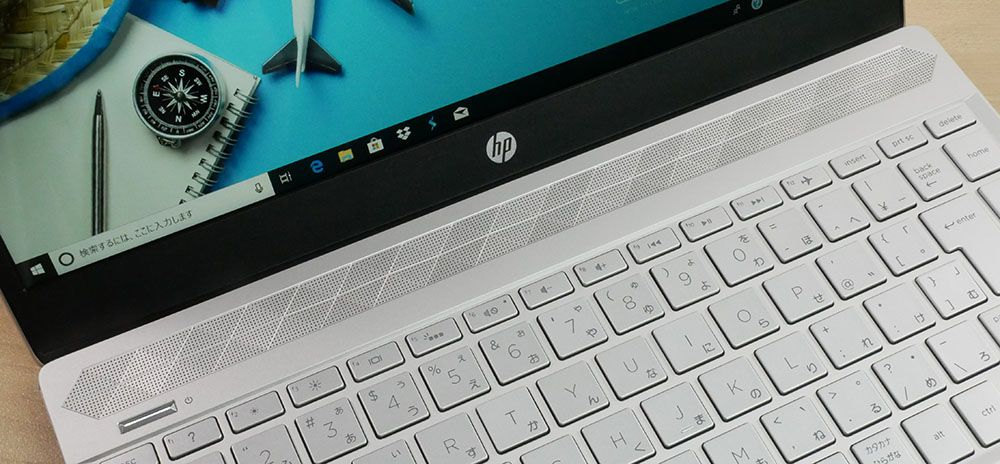 HP Pavilion 13-an0000のスピーカー