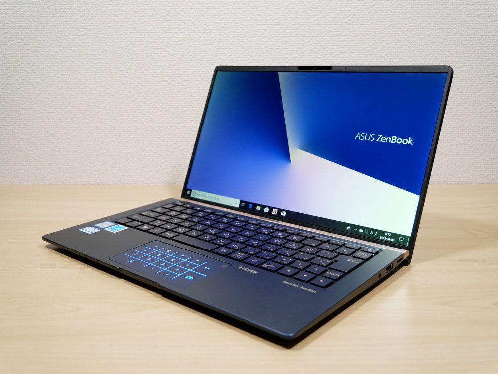 ASUS ZenBook 13 UX333FAの外観 見映え