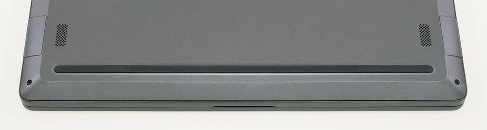 マウスコンピューター m-Book X400のスピーカー