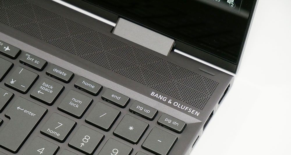 HP ENVY x360 15のスピーカー