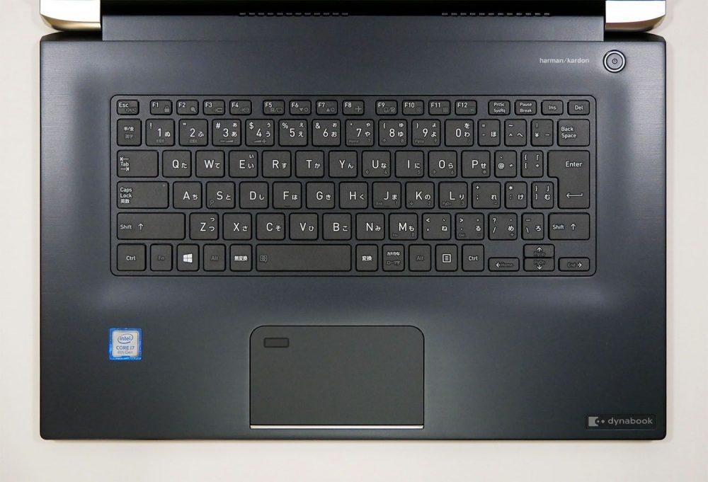 dynabook ZZ75のキーボード