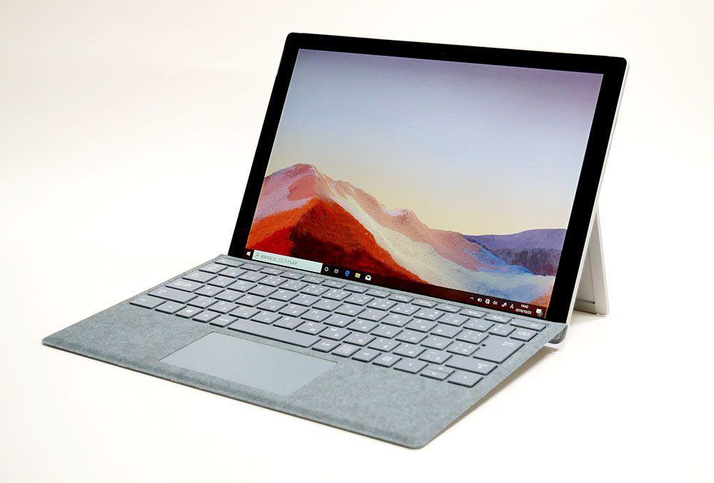 マイクロソフト Surface Pro 7の外観 見映え