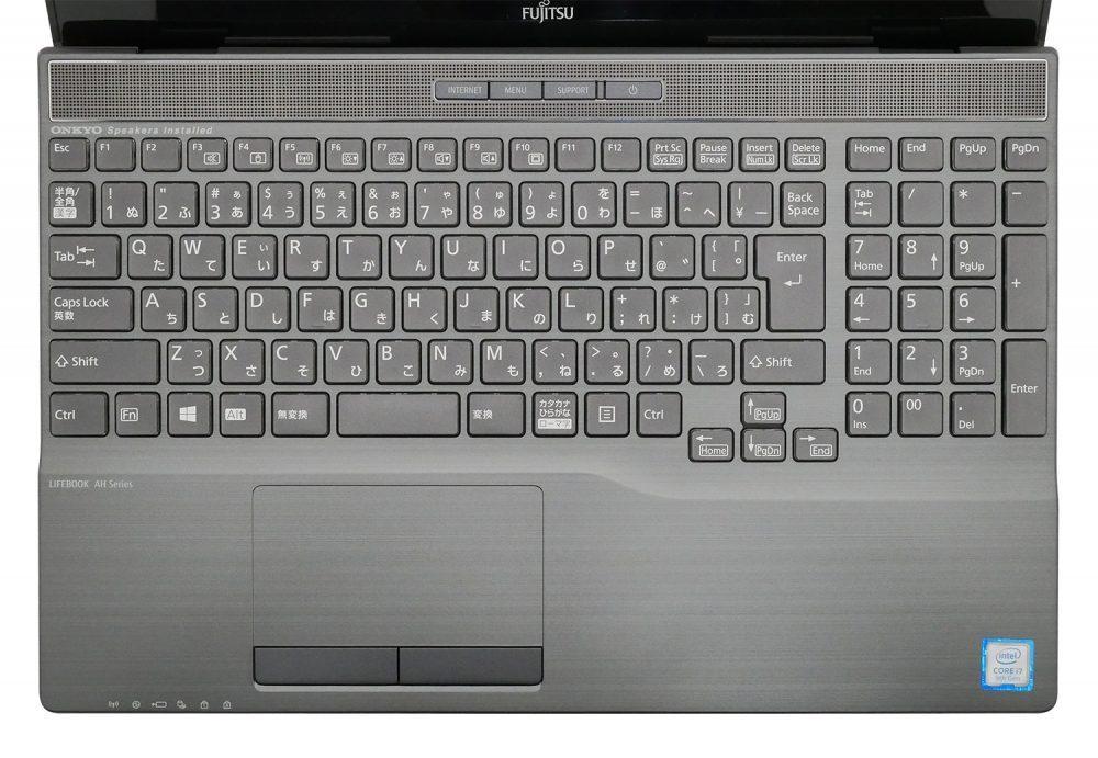 LIFEBOOK WA3/D3のキーボード