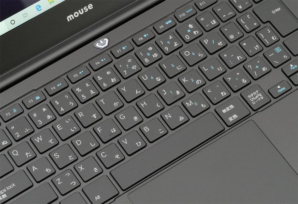 Up the keyboard diagonally