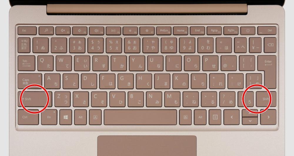 マイクロソフト Surface Laptop Goのスピーカー