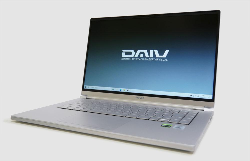 マウスコンピューター DAIV 5Pの外観 見映え