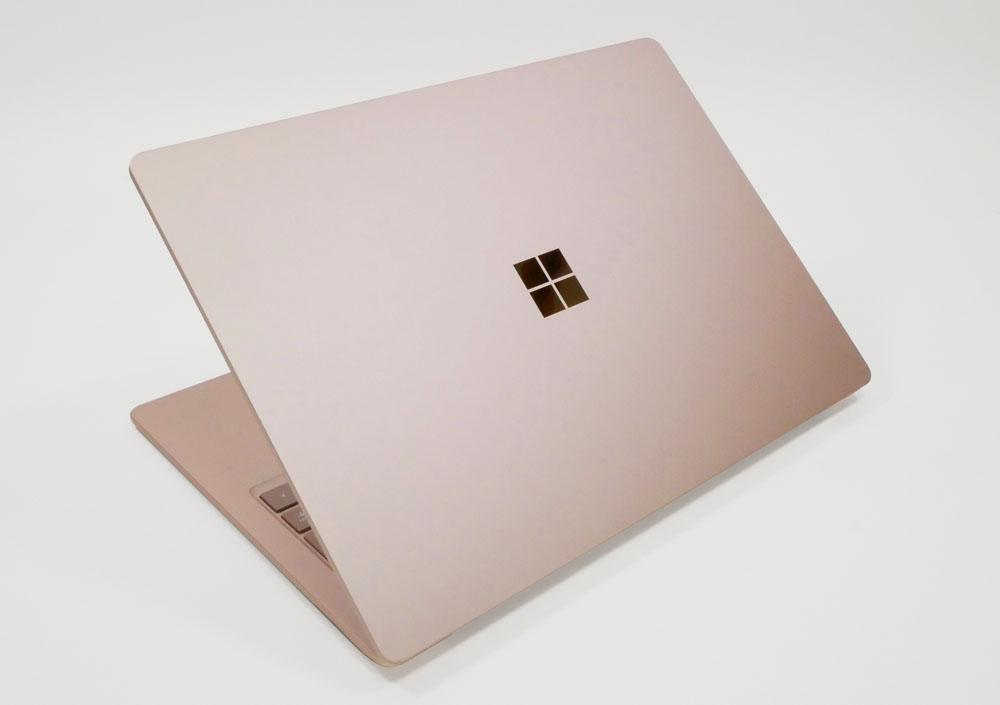 Appearance of Surface Laptop 3 Diagonally above from the top plate side