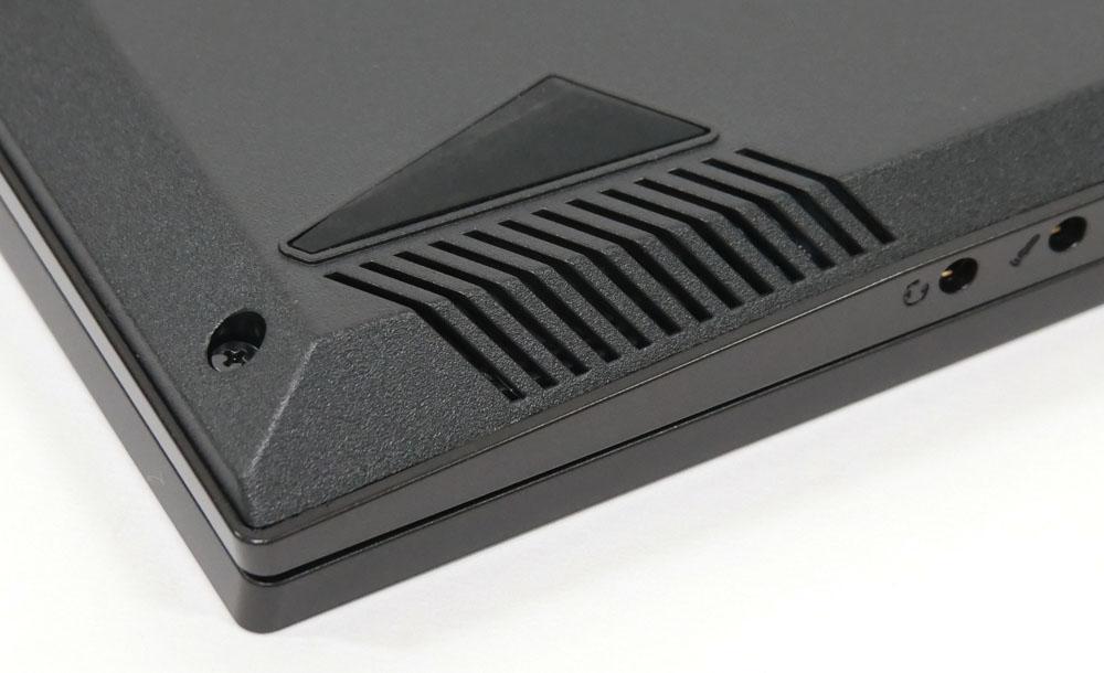 マウスコンピューター mouse K5のスピーカー