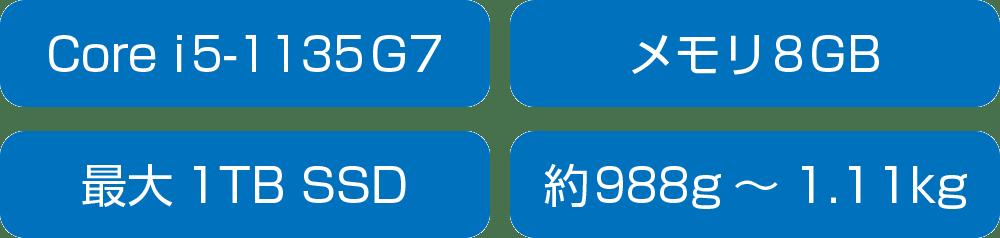 富士通 LIFEBOOK WC2/E3、WC1/E3のスペック