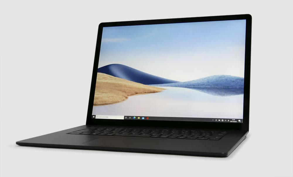 マイクロソフト Surface Laptop 4の外観 見映え