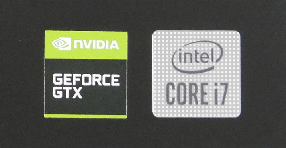 GTX 1650 Ti、Core i7-10750H搭載