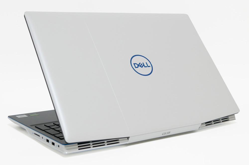 Dell G3 15 (3500)の外観 天板側から斜め上
