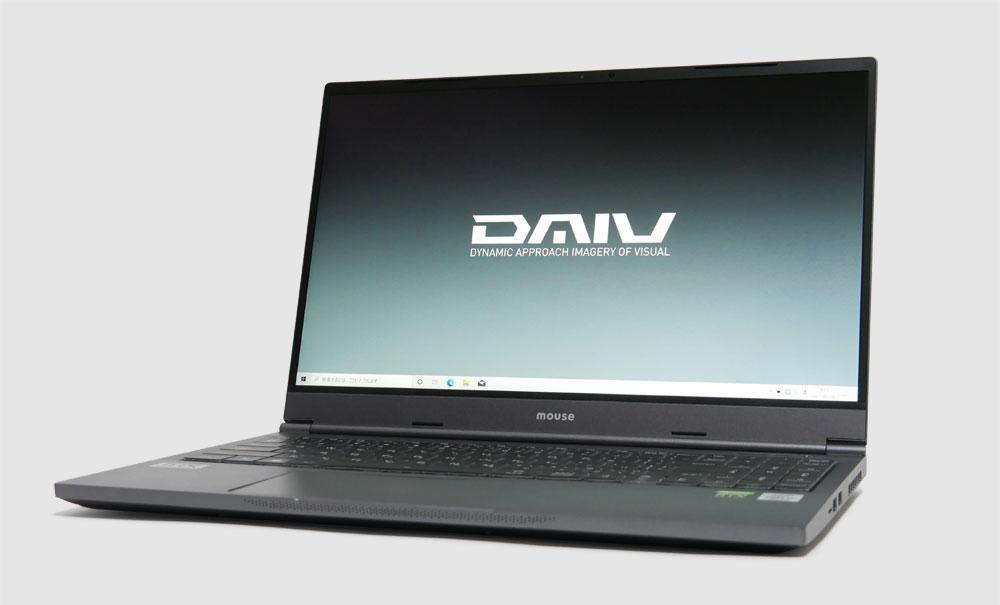 マウスコンピューター DAIV 5Nの外観 見映え