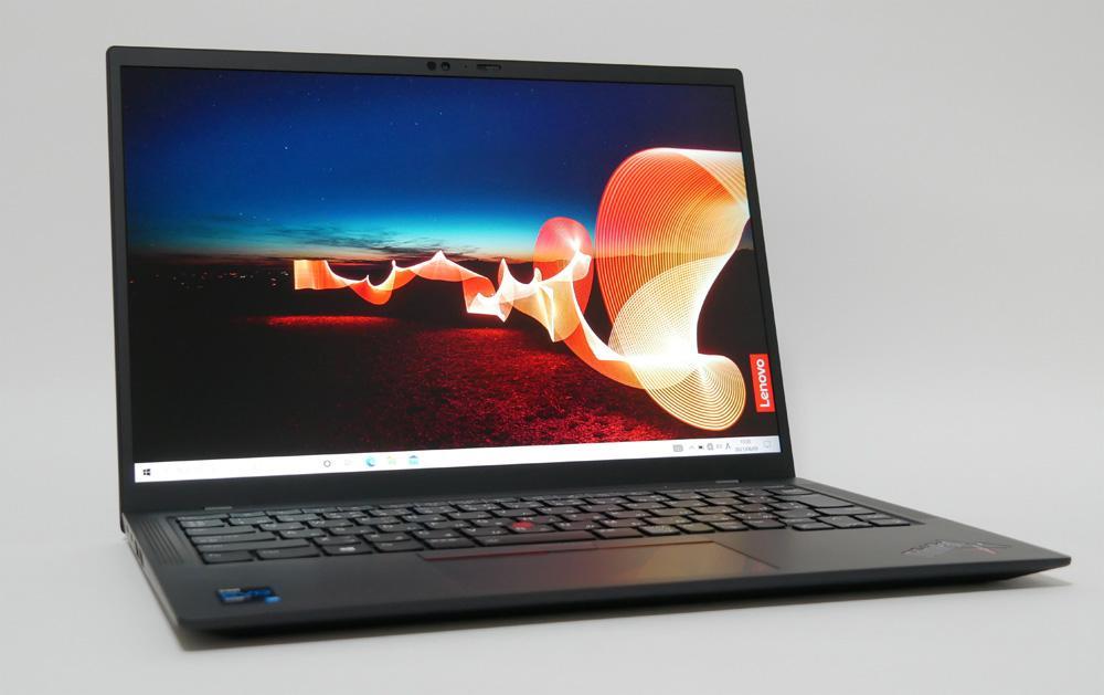 レノボ ThinkPad X1 Carbon Gen 9の外観 見映え